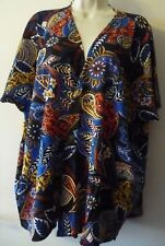 SIZE: UK 10 BNWT BLUE ORIENTAL KIMONO BY TG BRAND NEW rrp £14.99 SUMMER HOLIDAY