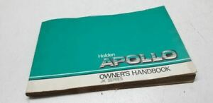 1990 HOLDEN APOLLO JK OWNERS MANUAL