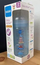 MAM Easy Active Baby Bottle 270ml/9.5oz - 2 Months+ (Blue) *NEW*