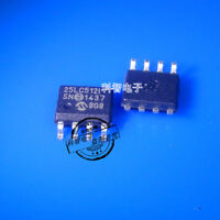 5X 25LC512I 25LC512-I/SN SOP8 512 Kbit SPI Bus Serial EEPROM