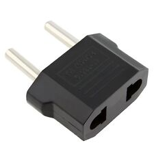 1 x USA Australia US AU to EUROPE EU EURO Power Plug Converter Travel Adapter