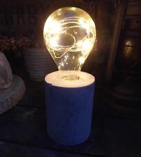 Lampada LED LAMPADINA VETRO DECORAZIONE GIARDINO zementsockel LUCI A CATENA