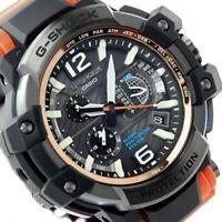 Casio GPW-1000-4 Gravity Master Orange Strap Watch Unopened