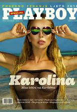 PLAYBOY CROATIA  SPECIAL SUMMER 2018  cover KAROLINA + poster