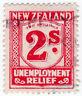 (I.B) New Zealand Revenue : Unemployment Relief 2/-