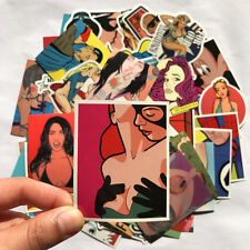 Fashion Mix Lot 52 pcs Porn Stickers Skateboard Graffiti Laptop Luggage Car