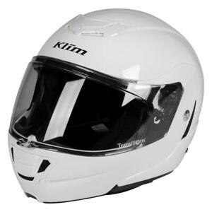 KLIM Sample TK1200 Helmet ECE/DOT LG Gloss White