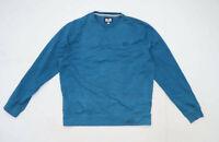 Weekend Offender Mens Size L Cotton Teal Sweatshirt
