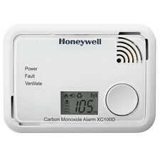 Honeywell XC100D Digital Carbon Monoxide Alarm Detector 10Yr Sealed Unit BNIB