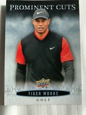2018 UD National Sports Card Convention Promo Prominent Cuts #PC-9 Tiger Woods