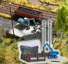 Busch Coal Yard with Excavator 1045 HO and OO Scale