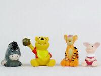 Vintage 1990s DISNEY Winnie-the-Pooh PIGLET Tigger EEYORE PVC Figures