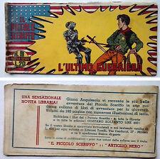 Striscia IL PICCOLO SCERIFFO IIª Serie N 9 TORELLI 1952