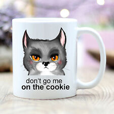 T207 Wandtattoo-Loft Cup Coffee Mug Cat Cookie Cat Morning Person
