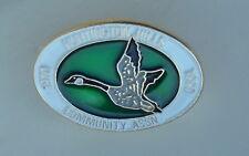 Huntington Community Assoc. 1970 1990 Calgary Alberta Canada Goose Souvenir Pin