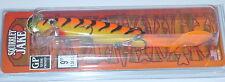 "9"" Squirrely Jake Musky Mania Musky Pike Lure Orange Tiger SQJ9-24"