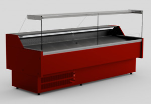 TEMIS REFRIGERATED SERVE OVER COUNTER DISPLAY VARIOUS COLOURS & DIMENSIONS