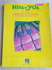 Hits of 1990's Arranged Big Note Piano w/Lyrics Unmarked