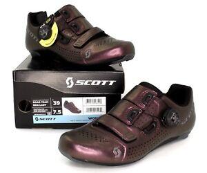 Scott Road Team Boa Bike Cycling Shoes Nitro Purple Women's Size 7.5 US / 39 EU