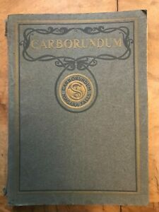 Carborundum Abrasives Niagra Falls New York USA Catalogue No 5
