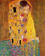 'Il Bacio (Klimt) quadro - Stampa d''arte su tela telaio in legno'