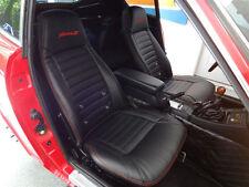 1970-1978 Datsun 240Z/260Z/280Z Synthetic Leather Black Seat Covers Fairlady Z