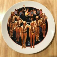 Avon A Chorus Line Porcelain Plate 1986 Images Of Hollywood *In Box*