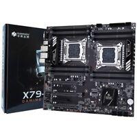 HUANANZHI X79-16D Motherboard Intel Dual CPU LGA 2011 E5 2689 2670 V2 DDR3 Q0N8