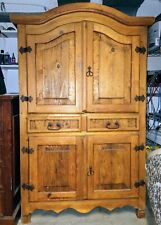 French Country Pine Armoire - Local pickup only - Must sell make offer!