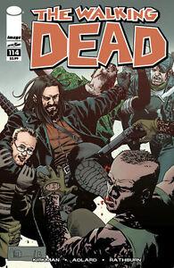 WALKING DEAD #114 (Image Comics) ROBERT KIRKMAN!!