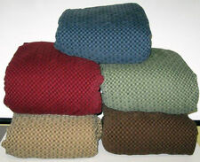 GALWAY T CUSHION SOFA/COUCH COVERS-BURGUNDY-ALSO COMES IN  PIQUE STYLE-SEE STORE