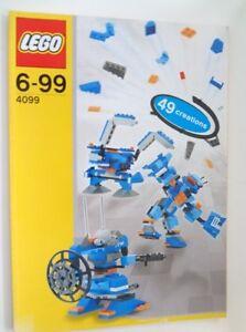 NEW Lego Instructions MANUAL for set 4099 ROBOBOTS