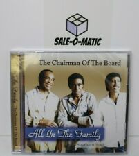 CHAIRMAN OF THE BOARD - ALL IN THE FAMILY CD (NEW SEALED)