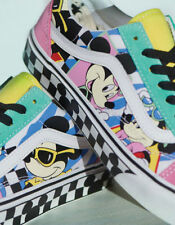 dee72fd9f00e BNIB 🔥Disney x Vans Old Skool Skate Shoe 80 s Mickey Mouse 90th  Checkerboard 10