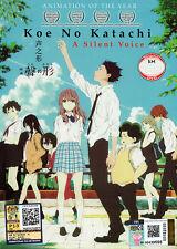 A Silent Voice [Koe No Katachi] DVD (Japanese Anime). - US Seller Ship Fast