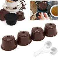 2/4PCS Ricaricabili Riutilizzabile Caffè Capsula Cialde Per Dolce Gusto Nescafé