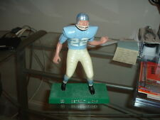 1958-1962 Hartland Plastics Football Statue Detroit Lions Lineman WITH Facemask