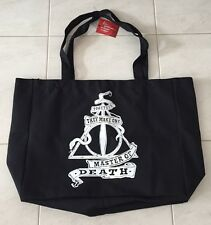 HARRY POTTER DEATHLY HALLOWS AWESOME DELUXE JUMBO CANVAS TOTE BAG Licensed SALE!
