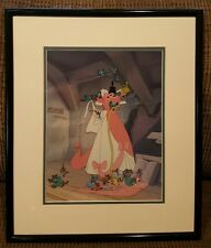 A lovely Dress For Cinderelly Sericel Limited Edition Great Condition Cinderella