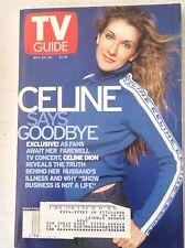 Tv Guide Magazine Celine Dion November 20-26 1999 042217nonrh2