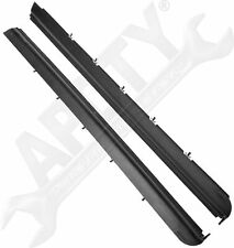 APDTY 141601 Door Window Dew Wipe Weatherstrip Seal Rear Outer Left or Right