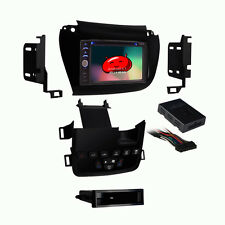 "GPS Unit Navigation System Dash Kit Bluetooth 6.2"" Black For 2011 Dodge Journey"