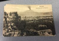 PANORAMA DA S. ANTONIO, SORRENTO, ITALY/ITALIA early divided postcard - Vesuvius