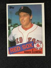 1985 Topps ROGER CLEMENS #181 Rookie RC NM Boston Red Sox *40