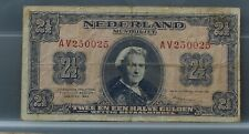 Nederland - Netherlands 2 1/2 gulden 1945 Wilhelmina II NVMH 15-1b