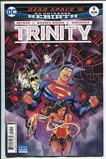Trinity #9 - Rebirth - Francis Manapul Art & Regular Cover - Dc Comics/2017