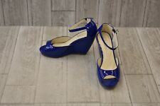 **RSVP Hazel Wedge Pump - Women's Size 7M, Blue