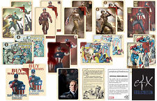"CAPTAIN AMERICA ""AGENT COULSON'S VINTAGE CAPTAIN AMERICA TRADING CARDS"" EFX NEW"