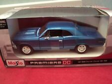 Maisto  1966 Chevrolet Chevelle  SS  396 1/26 scale  new in box blue exterior