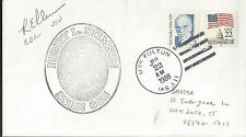 1988 US Nuclear Sub Tender Autographed Cover USS  Fulton AS 11